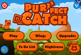 Purrrfect Catch example image